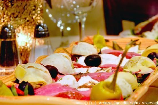 Gourmet Cafe Restaurant: Cold Antipasto