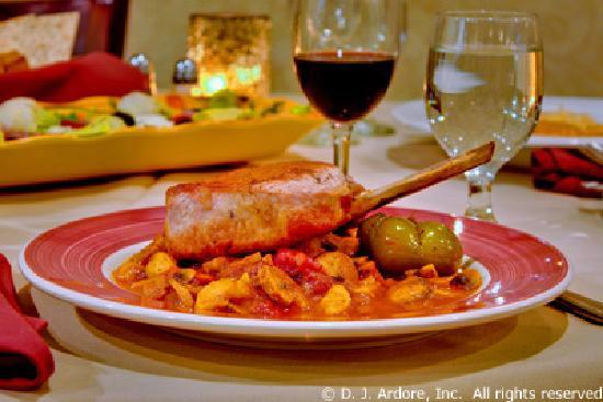Gourmet Cafe Restaurant: Pork Chop Giambotta