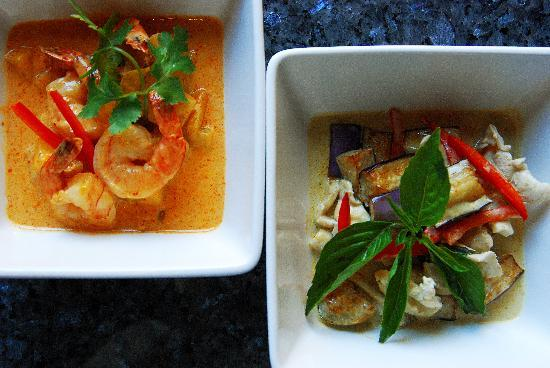 Bangkok Garden Restaurant: Curries