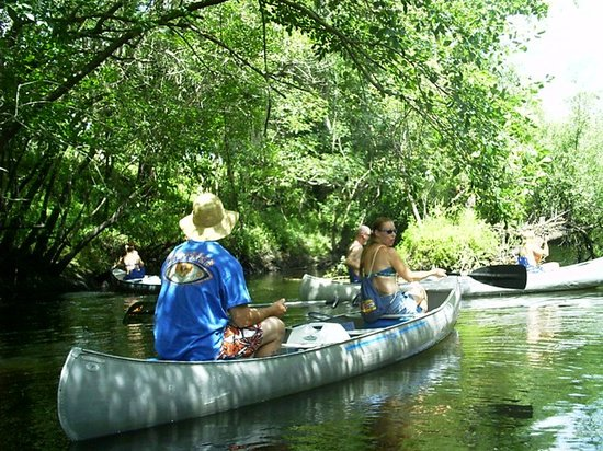 Canoe Outpost - Little Manatee River: Relax and enjoy your paddle on the Little Manatee River.