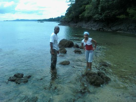 Coiba Island National Park: In crocodile's Tito area... he was almost coming