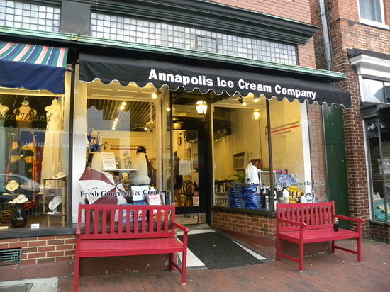 Annapolis Ice Cream Company : Our store at 196 Main Street, Annapolis, MD