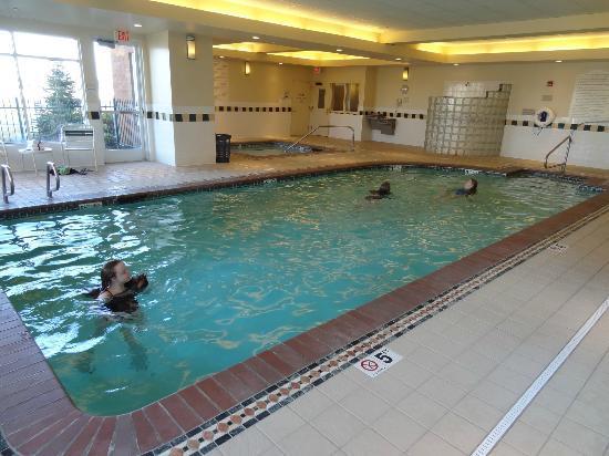 Pool Hgi Spokane Picture Of Hilton Garden Inn