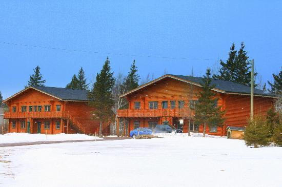 Village Scandinave: The cottages....