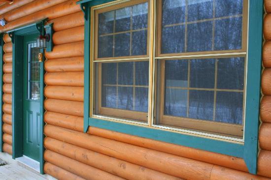 Village Scandinave: Back of cottage