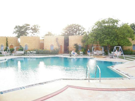 Swimming Pool Picture Of Himmatgarh Palace Jaisalmer Tripadvisor
