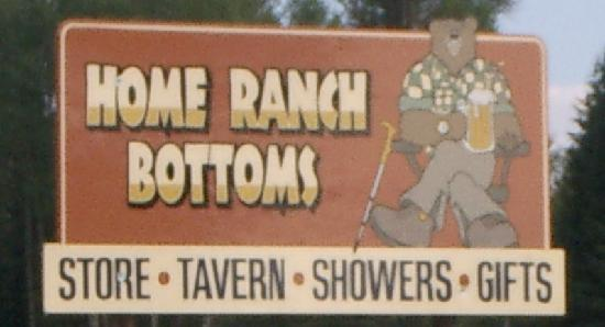 Home Ranch Bottoms: You'll find us on the North Fork Road