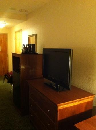 Holiday Inn Palm Beach-Airport Conference Center: big flat screen tv