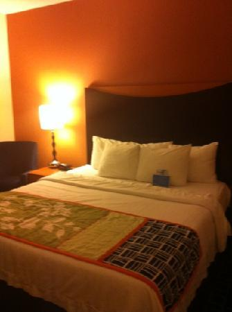 Holiday Inn Palm Beach-Airport Conference Center: comfy bed!