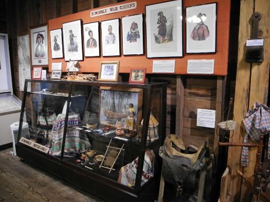 Micanopy Historical Society Museum: Seminole War Chiefs Exhibit