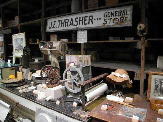 Micanopy Historical Society Museum: J.E. Thrasher General Store