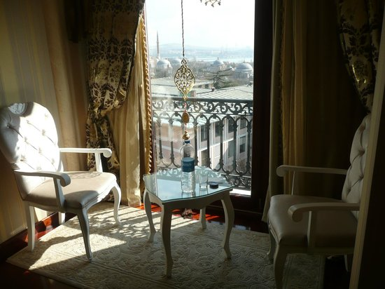 Deluxe Golden Horn Sultanahmet Hotel : Our room 510 with the perfect view