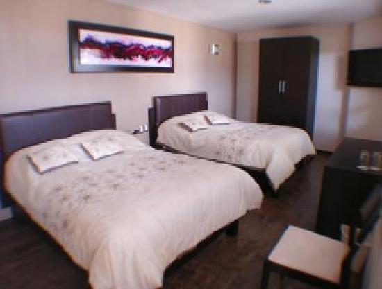Terrasse Hotel: Habitacion Doble con Camas Matrimoniales