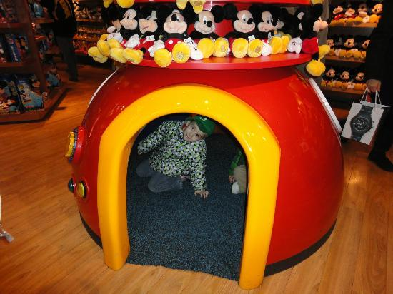 Disney Store: Little play area for kids