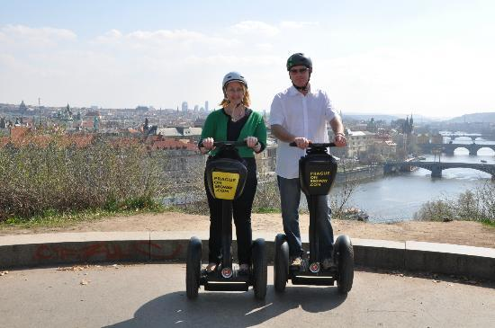 Prague On Segway : Park Photo