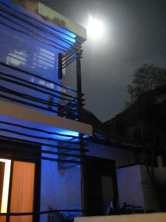 Moon light at Hotel Latino