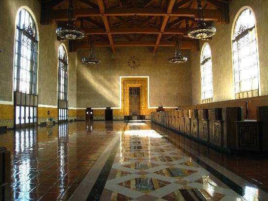 Coast Starlight: Los Angeles Union Station