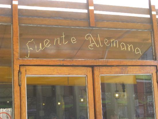Fuente Alemana: Outside
