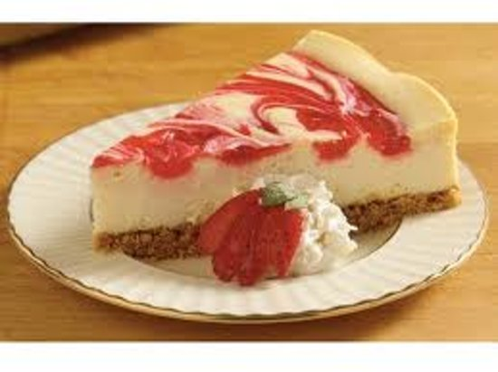 Boca's Best Pizza Bar: Strawberry Cheesecake