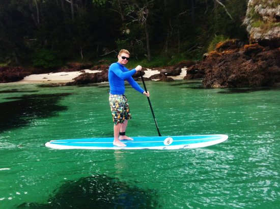 Jervis Bay Stand Up Paddle: The crystal clear waters of Jervis Bay