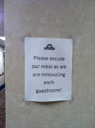Days Inn Brewerton/ Syracuse Near Oneida Lake: really?