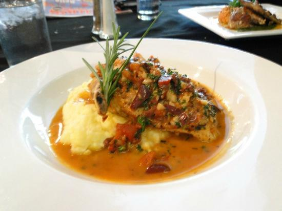 Chicken over polenta entre 39 picture of bohemia for About continental cuisine