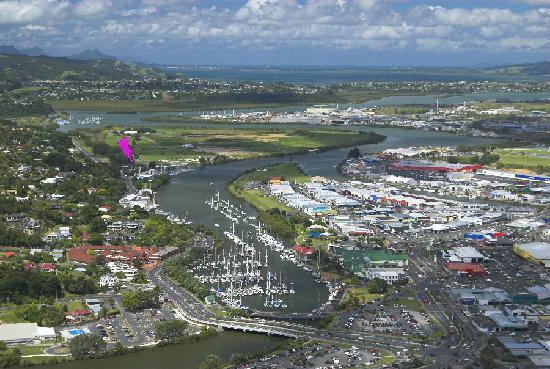 Marina Court Motels And Apartments: Our location in Whangarei