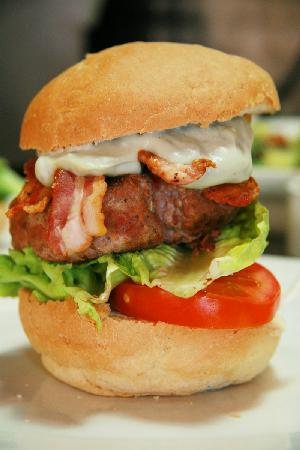Christina's Bistro at Van Loveren: We make the patties of our 220g Beef Burgers ourselves