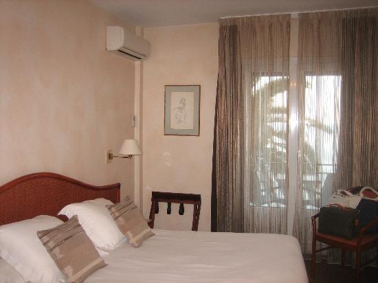 Best Western Hotel Prince De Galles : Zimmer mit Meerblick