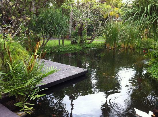 Hotel Santika Premiere Beach Resort Bali: Gardens