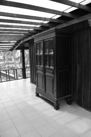 Luang Prabang Oasis – Villa Nam Nue: patio