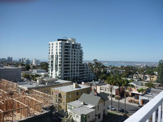 Inn at the Park: View to SW from rooftop
