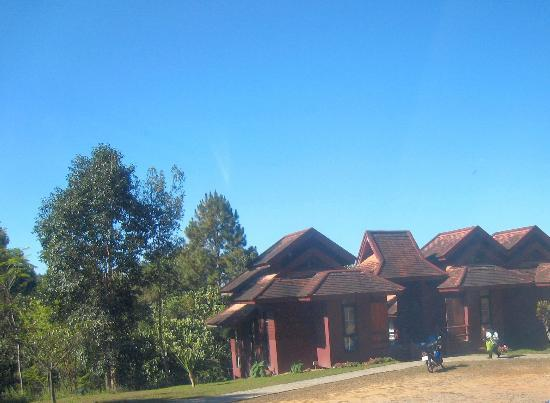 Doi Phu Kha National Park: Some of the more solid 'lodges' available for rent