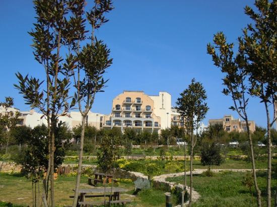 Bella Vista Hotel : Hotel from Park
