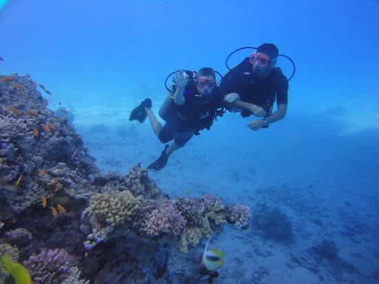 Aqua Nabq Dive Center: Always with instructors