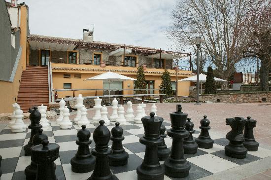Seva, Spania: Detalle Jardin