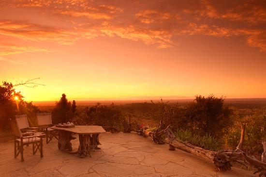 Lion Trails Safaris - Day Tours: Sunset in Laikipia plains