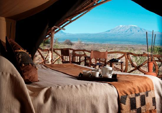 ‪‪Lion Trails Safaris - Day Tours‬: Luxury accommodation in Amboseli National Park‬