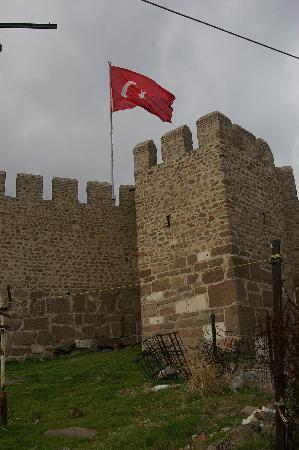 Ankara Citadel (Hisar): View of the citadel