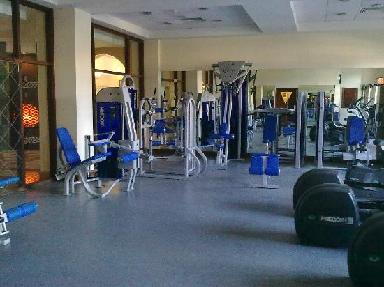 Elysium Hotel : The gym