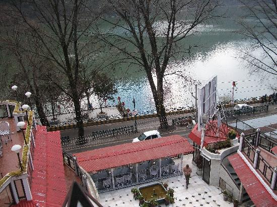 Alka The Lake Side Hotel View From Common Balcony