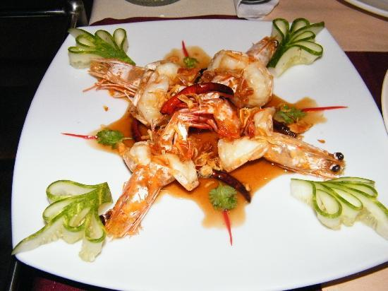 Uncle Rang Restaurant: Prawn in tamarind sauce, very nice