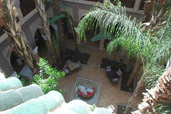 La Villa Nomade : patio
