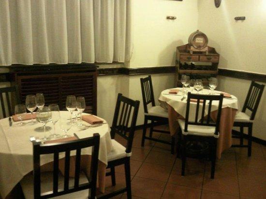 Osteria del Riccio: sala