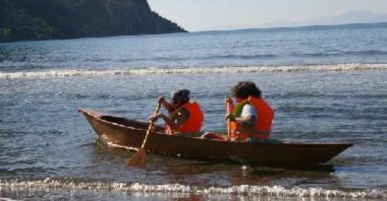dalyan iztuzu canoe