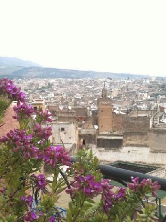Riad Tara: la terraza