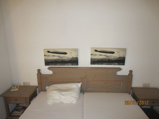 Hotel Zeppelin: Zimmeransicht