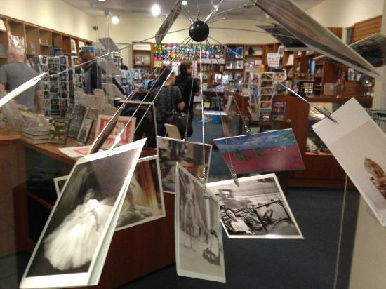 Museum of Photographic Arts (MoPA): bookstore of museum