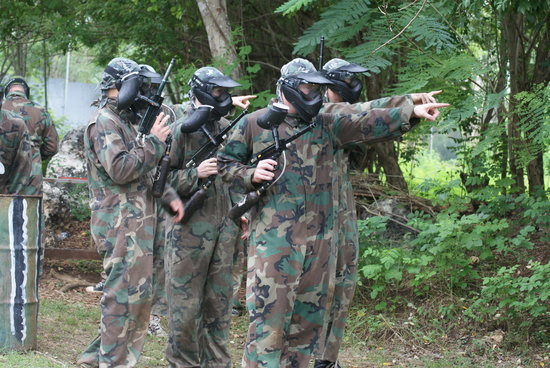 Jimbaran Hill Paintball by Bali Paintball Arena
