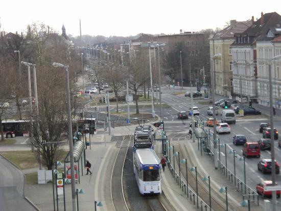pentahotel Braunschweig: Vista do Quarto do Hotel